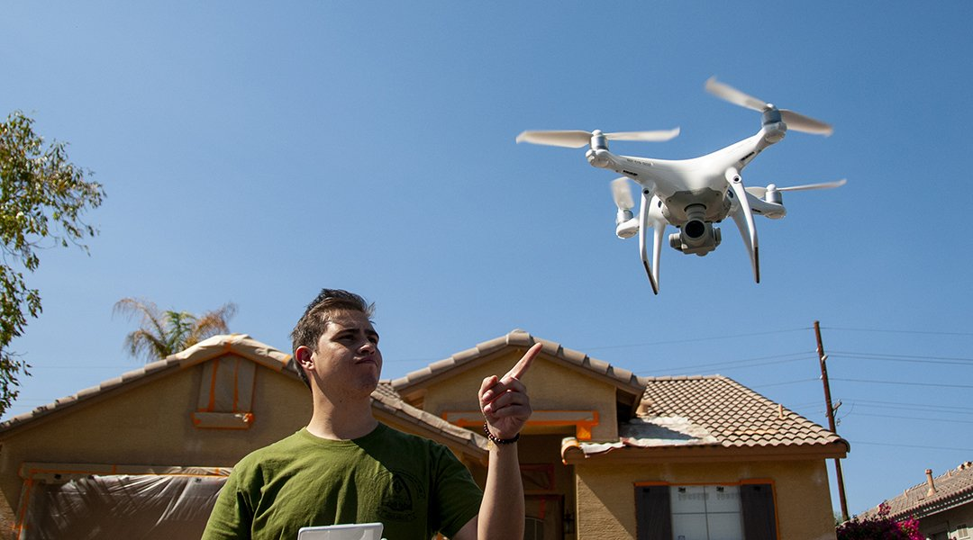 Marketing a Painting Business with a Drone